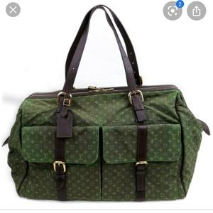💯 Auth LV Keepall Duffle Minilin Travelling bag